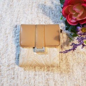 Liz Claiborne paisley Wallet